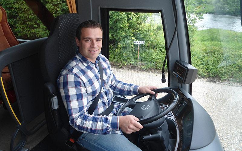 Busfahrstunde mit unseren Fahrlehrern